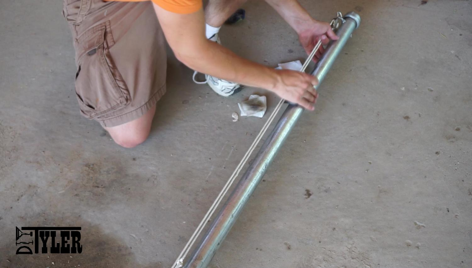 Do It Yourself 130 Flag Pole Diytyler