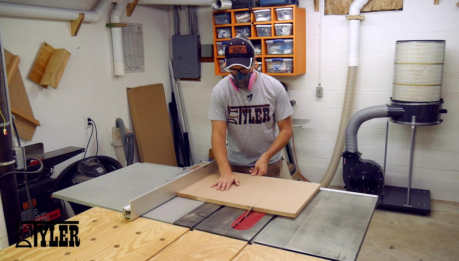 MDf on the table saw