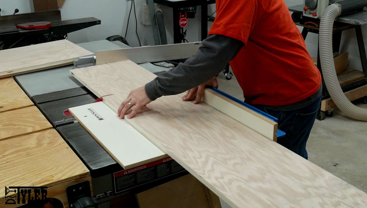 Rockler crosscut sled